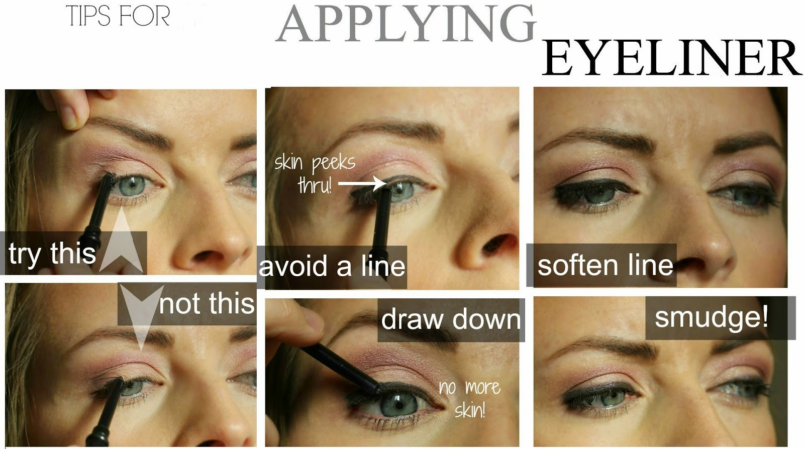 applying eyeliner properly tips and tutorial b g fashion. Black Bedroom Furniture Sets. Home Design Ideas