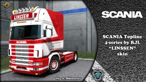 """Linssen"" Kit Scania 4"