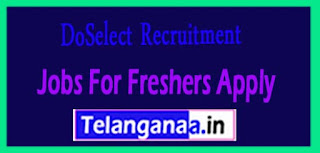 DoSelect Recruitment 2017 Jobs For Freshers Apply