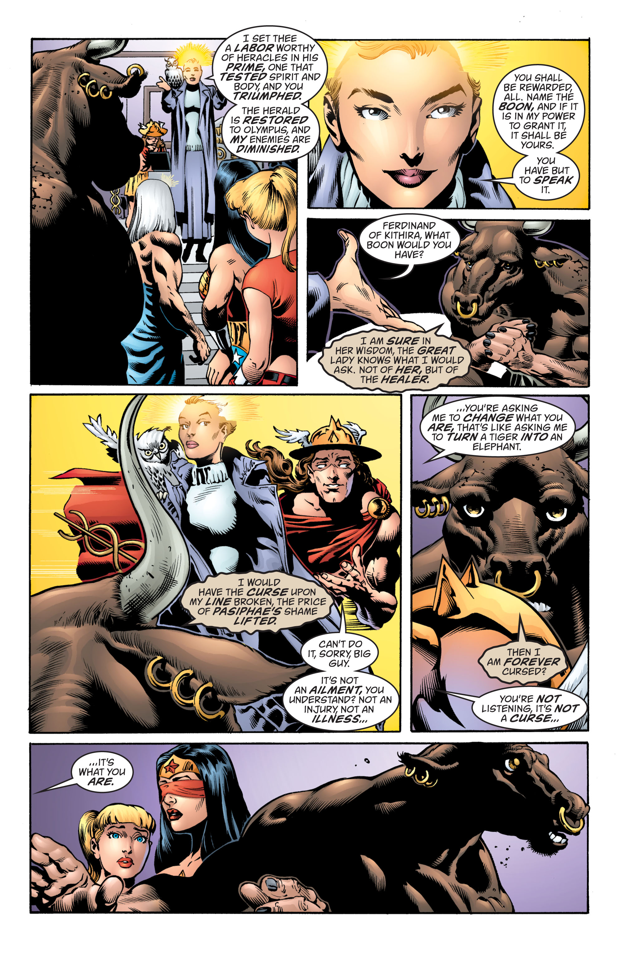 Read online Wonder Woman (1987) comic -  Issue #217 - 17