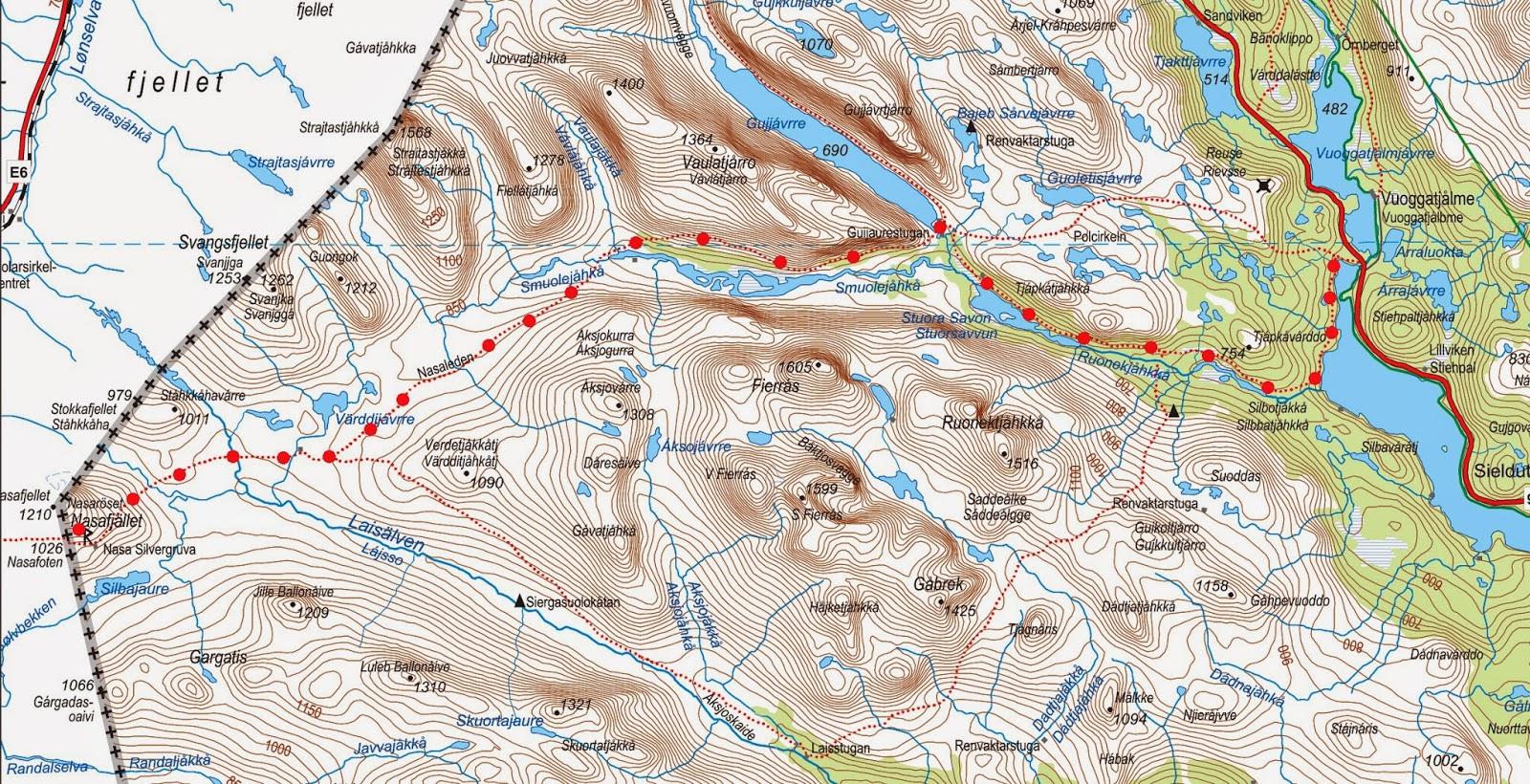 polcirkeln karta En sajt med fokus på sommaraktiviteter! : 10 augusti 2014  polcirkeln karta