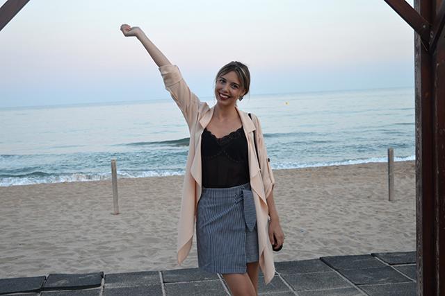 Esta De Moda Marlafra Atardecer En La Playa