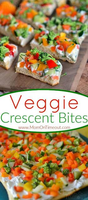 Veggie Crescent Bites