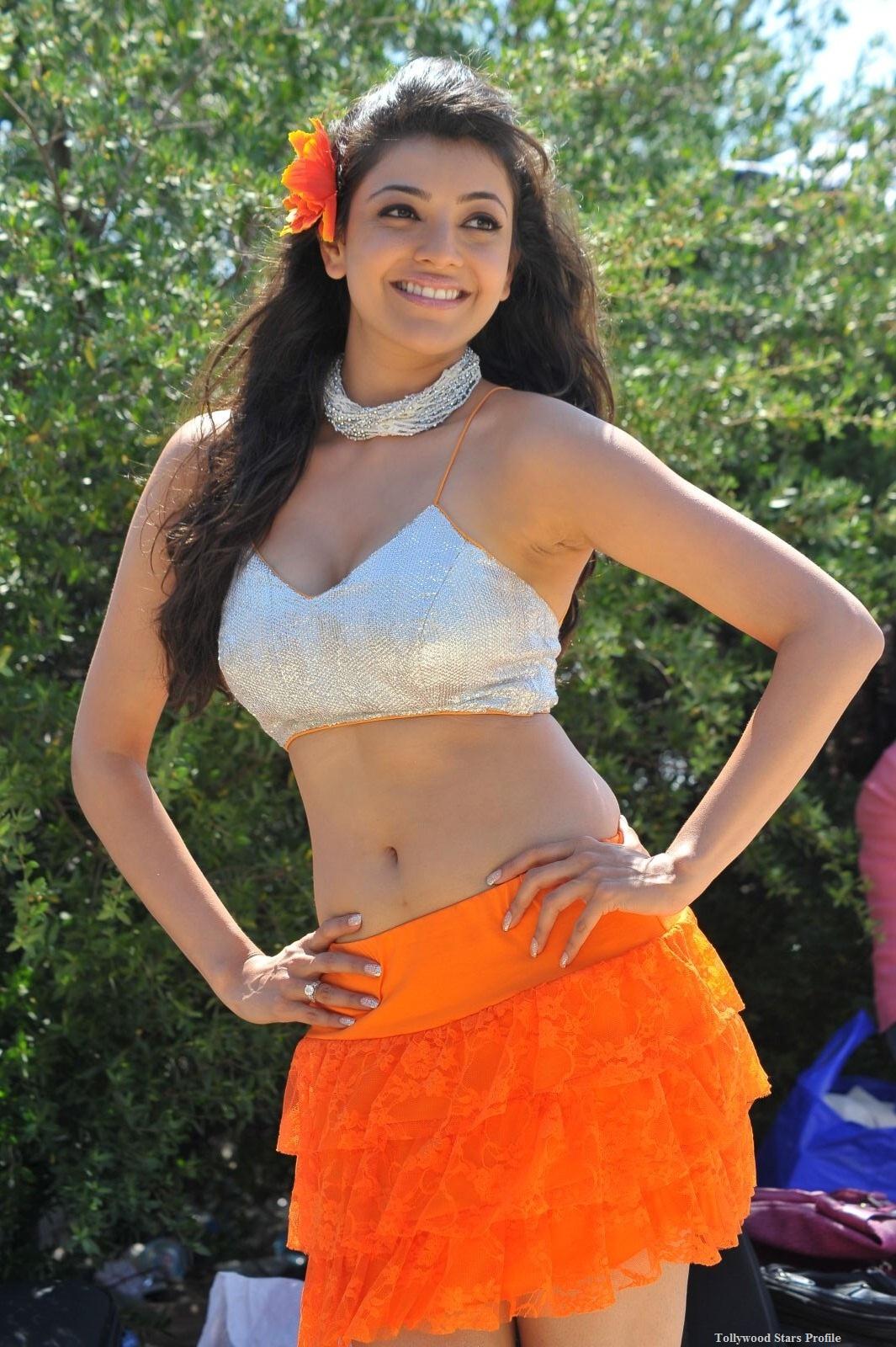 Kajal Agarwal Hot Beach Song Photos From Businessman Movie ...