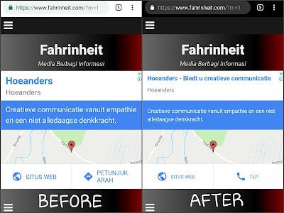 Cara Membuat Warna Tab Browser Sama Dengan Warna Template di Blogger