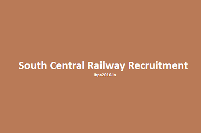 South Central Railway Recruitment 2016
