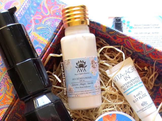 AVA Moisturiser Jasmine Mogra Vanilla White Rain Collection
