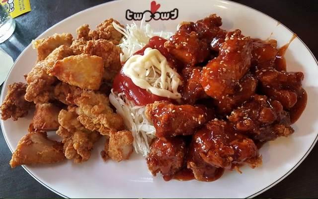 Món gà tẩm gia vị Hàn Quốc