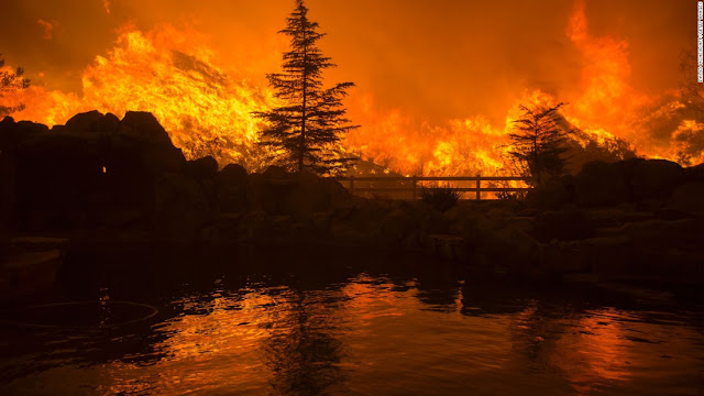 Sand Canyon fire now swallowing more than 10,000 football fields a day!  160724140455-01-ca-wildfire-gettyimages-579388882-super-169
