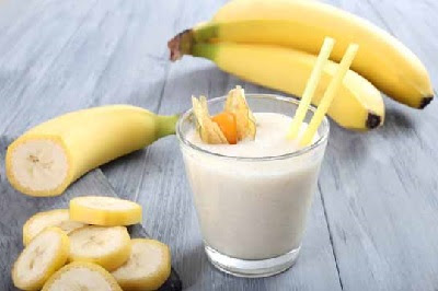 Resep Smoothies Banana Vanila