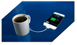 generate current from coffee