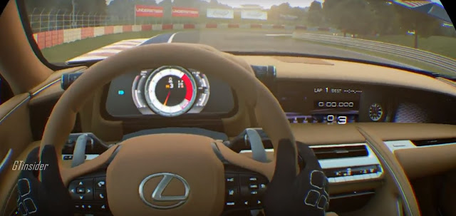 Οδηγούμε το Lexus LC 500 σε εικονική πραγματικότητα (VR) στο PS4 (video)