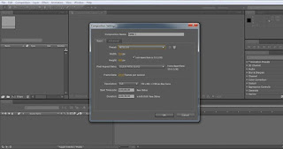 tutorial adobe after effect cs4 mensetting composition baru