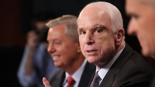McCain a Trump: No amenace a Pyongyang si no está preparado