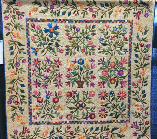 Spring Bouquet Quilt - Free Pattern