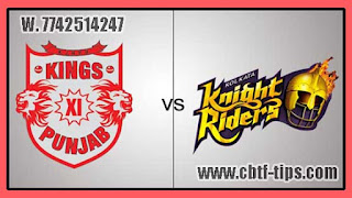 Match Prediction Tips by Experts KXIP vs KKR