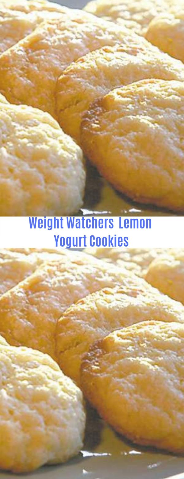 Weight watchers Lemon Yogurt Cookies