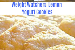 Weight watchers Lemon Yogurt Cookies