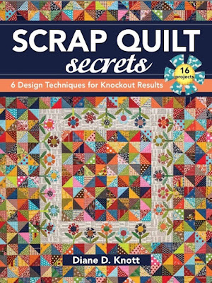 scrap quilt secrets diane knott design techniques book
