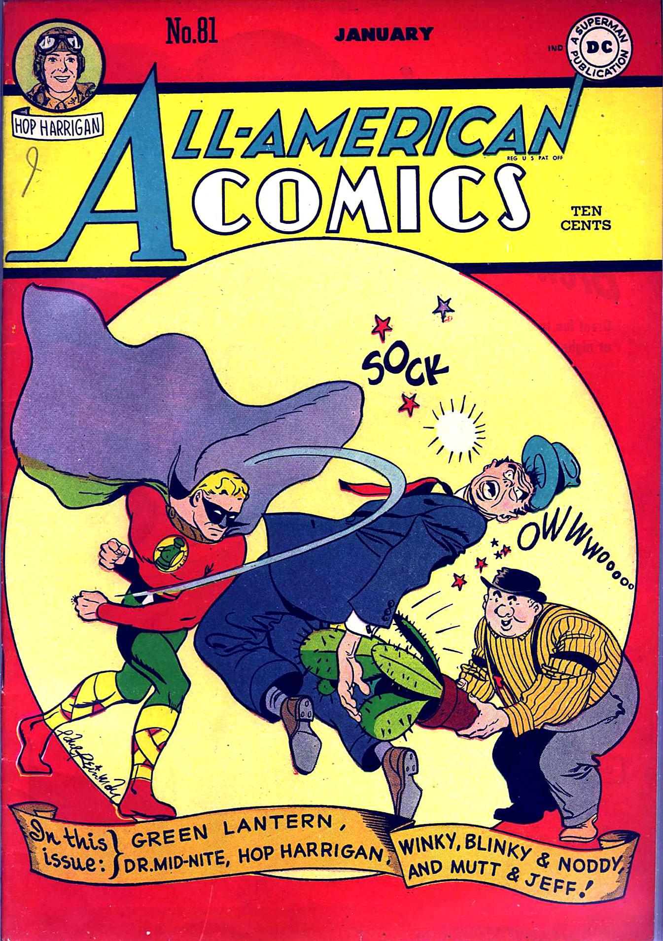 All-American Comics (1939) 81 Page 1