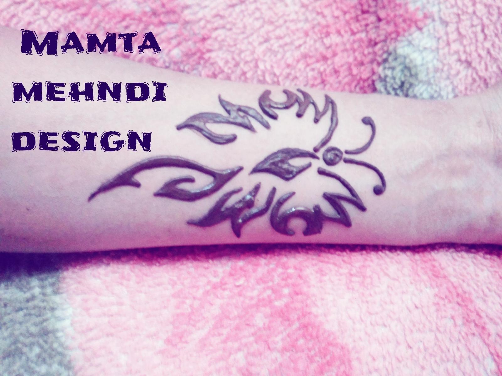 Mamta Mehndi Design Fire Butterfly Tattoo Design