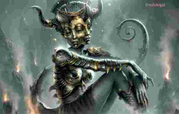 diosa ereskigal ishtar