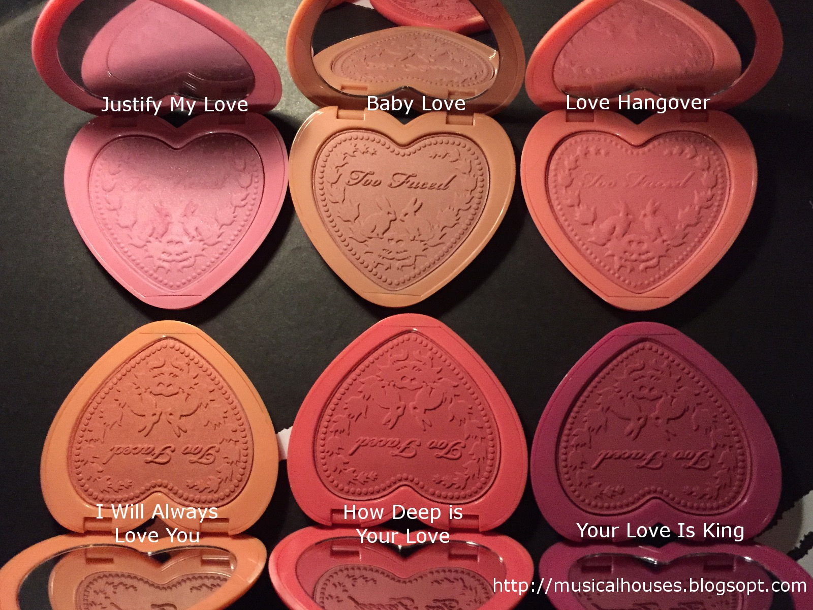 Is Too Faced Natural Love Palette Toxin Free