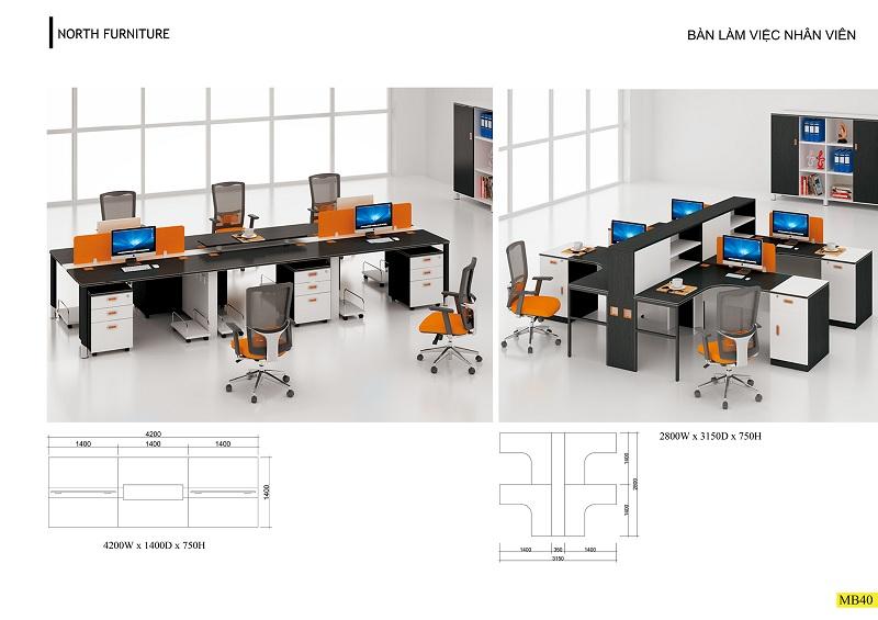 Thiết kế nội thất phòng làm việc cá tính, năng động