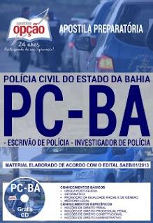 Apostila PCBA Investigador de Polícia 2018
