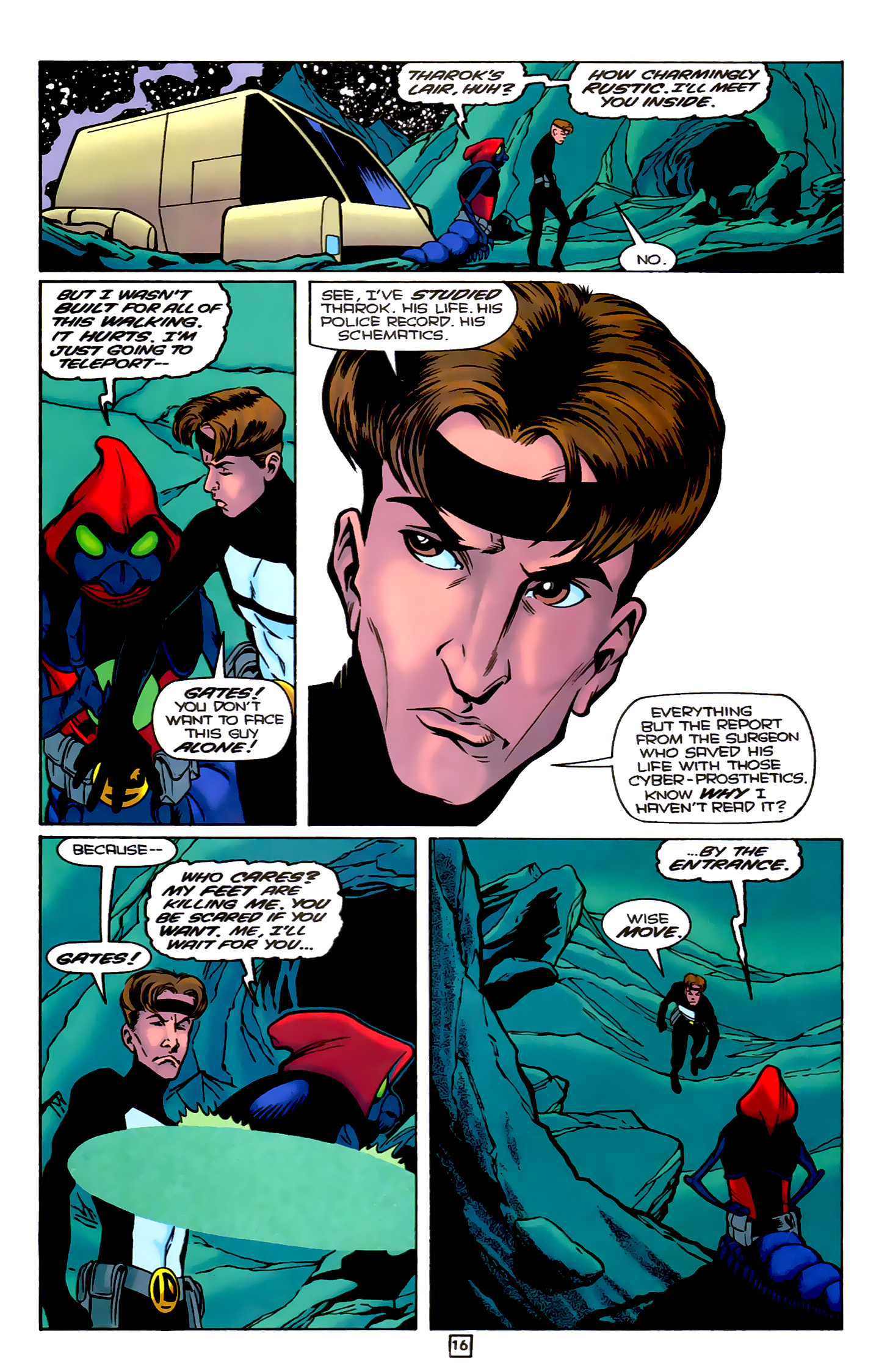 Legion of Super-Heroes (1989) 78 Page 16