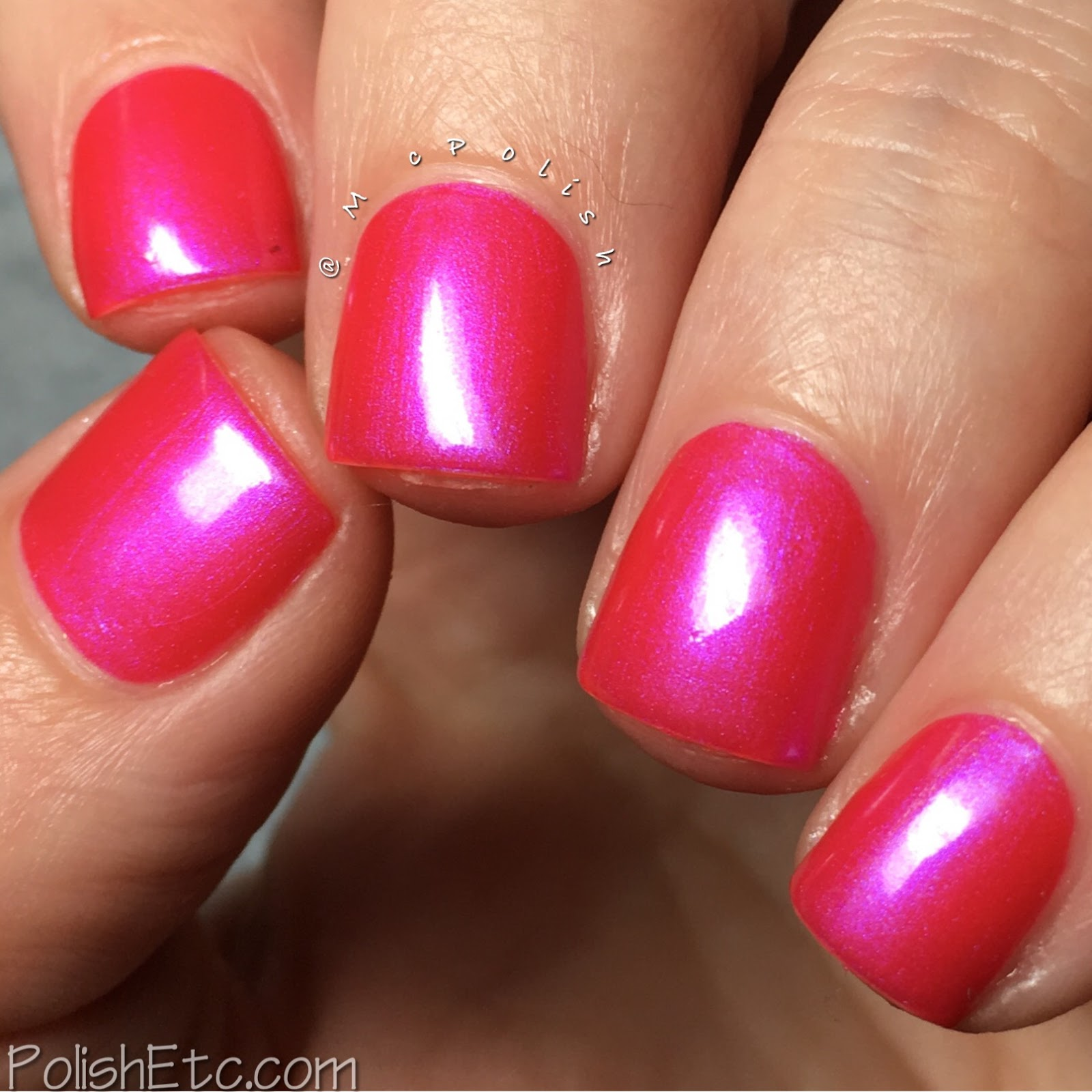 Whimsical Ideas by Pam - Whimsical Valentines 2017 - McPolish - Happily Ever After