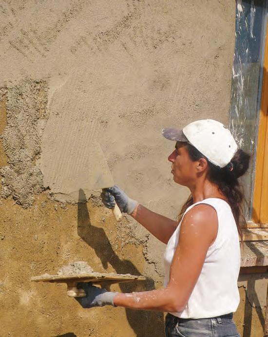 Bouddhanar construire sa maison en terre paille - Construire une maison en terre ...