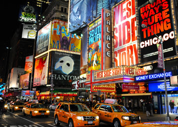 Time Square New York - This Week's Cruise Schedule From New York and New Jersey