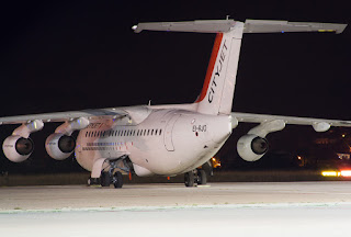Avro RJ85 of CityJet at Basel-Mulhouse