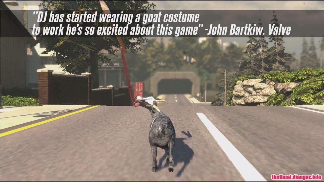 Goat Simulator: PAYDAY, Goat Simulator: PAYDAY free download, Goat Simulator Payday (USA) PC Download