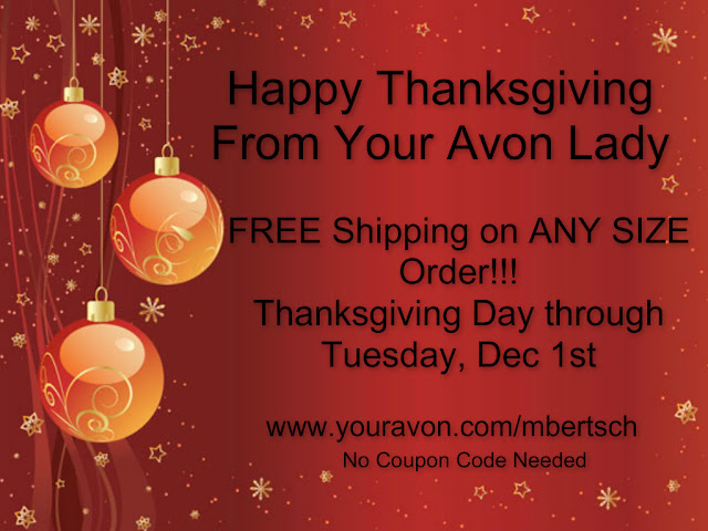 Avon Thanksgiving Coupons