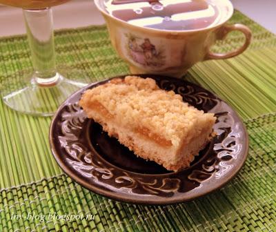 Абрикосовый пай (пирог со штрейзелем))