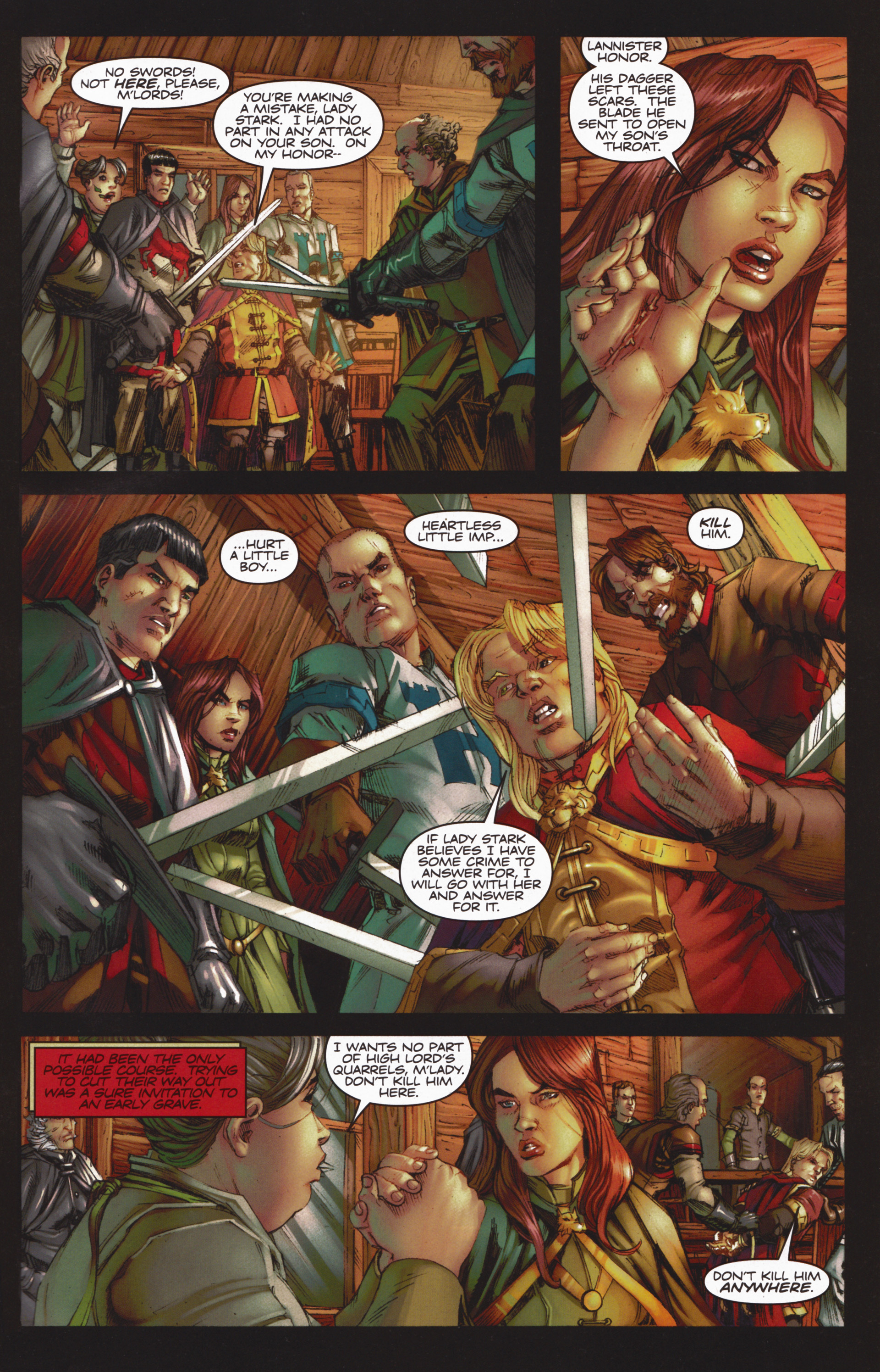 Read online A Game Of Thrones comic -  Issue #10 - 3