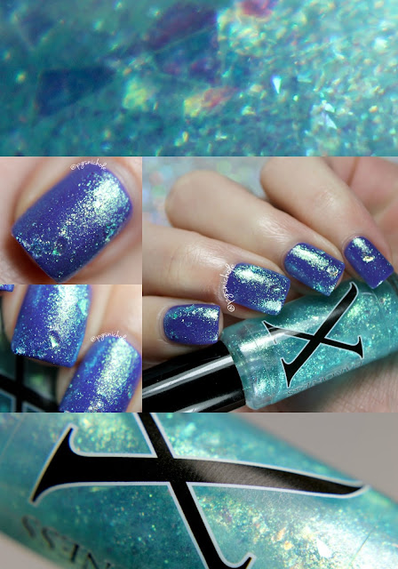 Baroness X Arcadia │over Vapid Lacquers Netflix & Chill