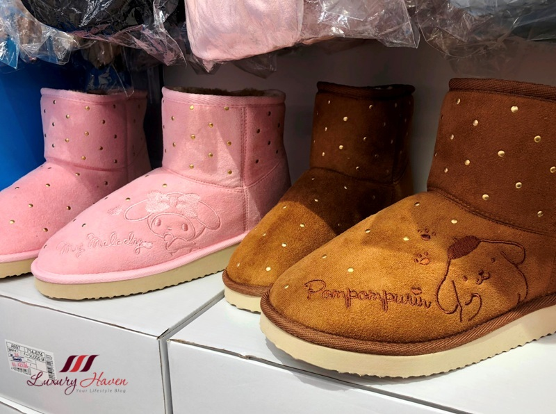 rinku town sanrio outlet pompompurin shoes