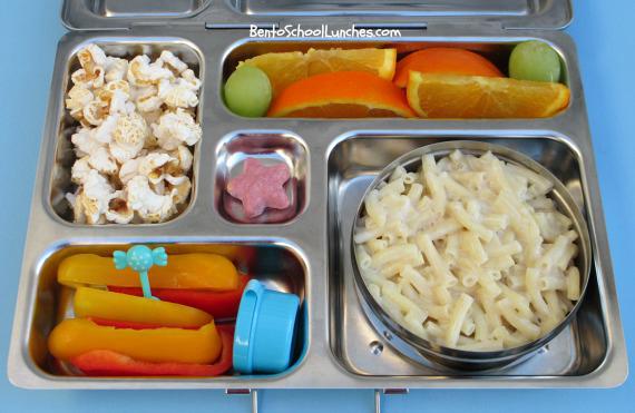 Annie's organic pasta bento school lunch