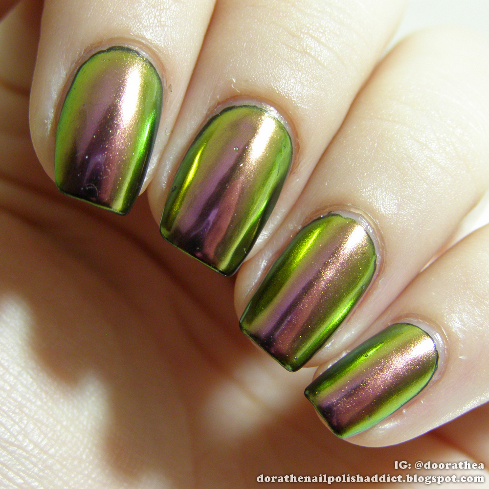 How Does Powder Nail Polish Work: Dóra, The Nail Polish Addict: CHROME NAILS