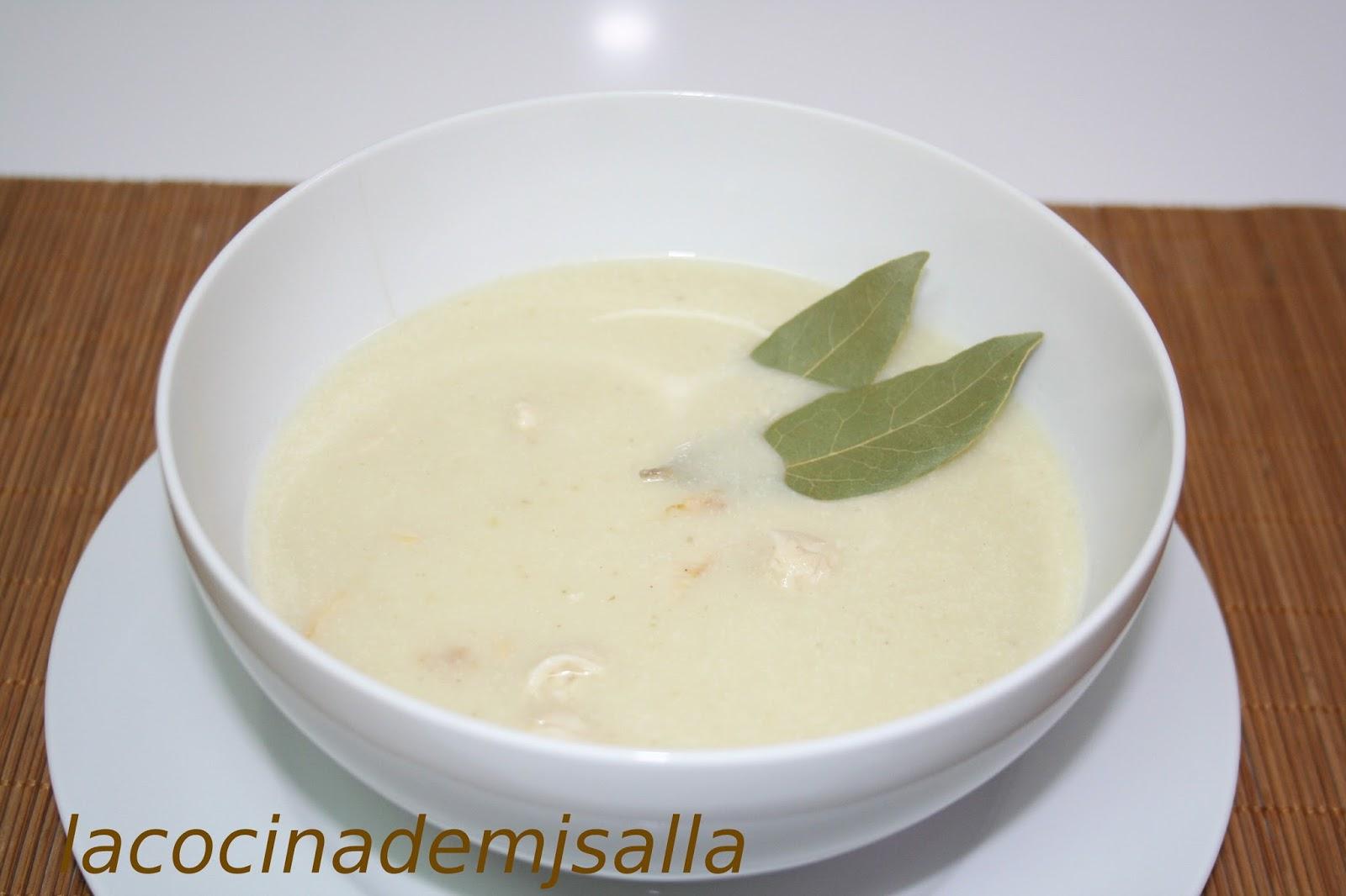 como hacer sopa de apio puerro y cebolla
