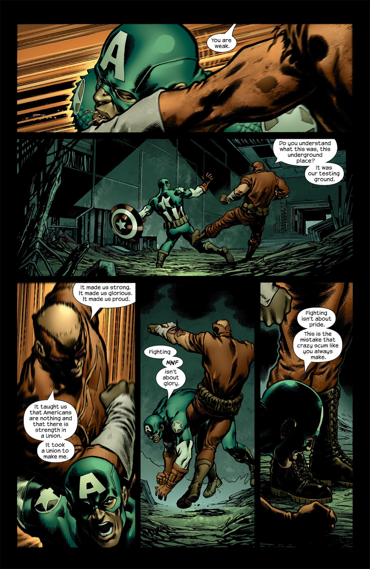 Read online Ultimate Nightmare comic -  Issue #5 - 12