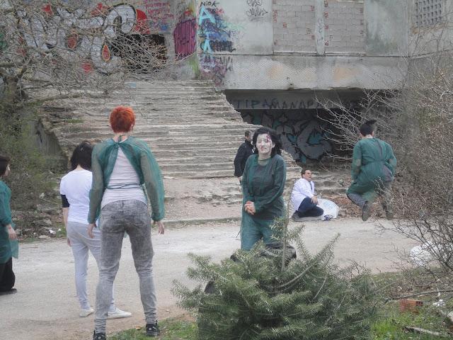 """Στιγμές από τα γυρίσματα της νέας ταινίας """"Ground Zero"""""""