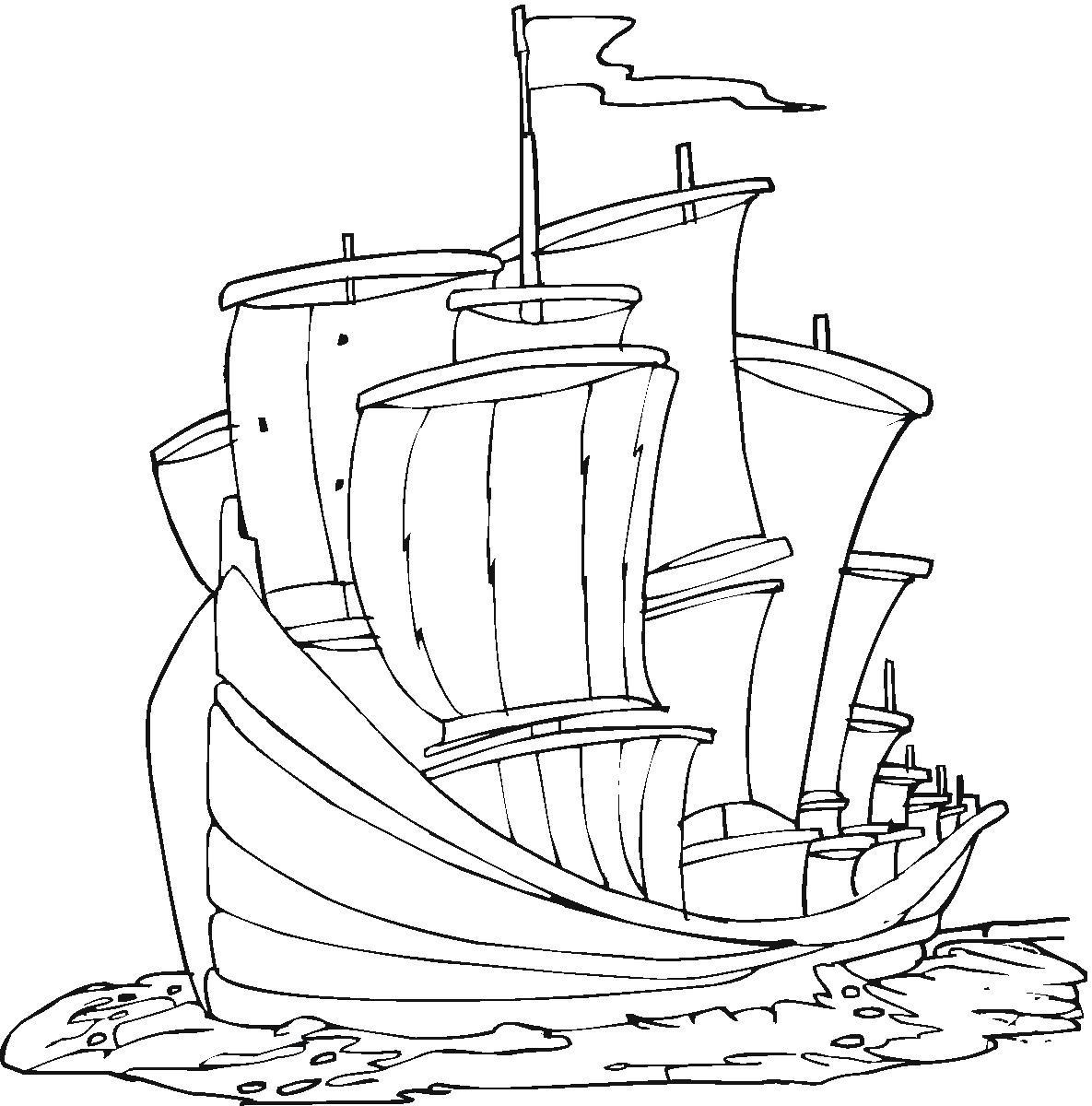 Sketsa Gambar Kapal Titanic Sobsketsa