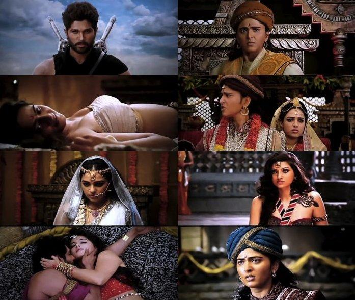 Rudhramadevi 2015 Hindi Dubbed DVDScr 700mb