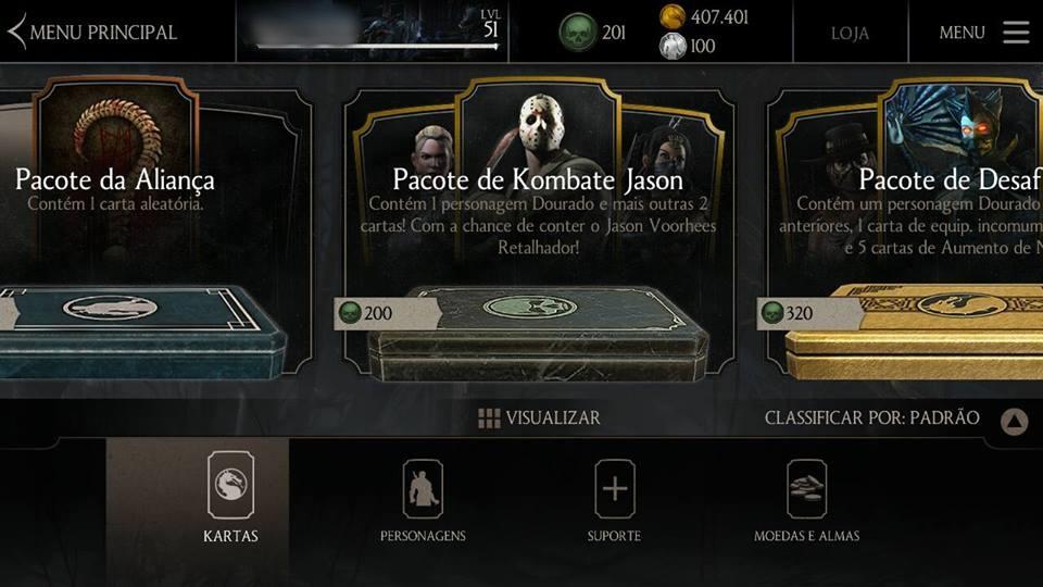 Casa Mortal Kombat: Códigos e Dicas - Mortal Kombat X (Mobile)