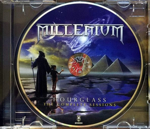 MILLENIUM (Jorn) - Hourglass: The Complete Sessions [remastered +6] (2017) disc