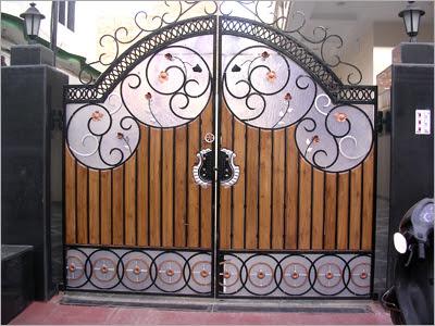 Home Wall Decoration: Luxury homes iron gates designs ideas. on Iron Get Design  id=84673